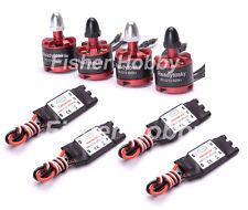 4x 2212 920KV Brushless Motor +4x 30A SimonK RC Brushless ESC With BEC