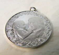 1975 Mother's Day Sterling Silver Pendant -