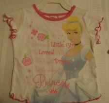 Disney Princess 2T Short Sleeve Shirt NWT