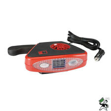 12 Volt DC Auto Heater / Defroster with Light / ELECTRIC PORTABLE CAR HEATER