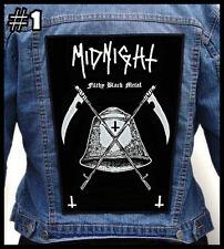 MIDNIGHT  === Huge Back Jacket Patch/Aufnäher === Various Designs