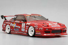 Yokomo 1/10 RC Car DRIFT BODY Shell D-MAX  ADVAN One-Via NISSAN 180SX   190mm