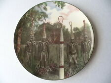 ROYAL DOULTON AUSTRALIAN ABORIGINE CHINA PLATE ABORIGINAL CORROBOREE DANCE DRESS