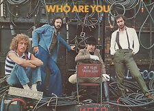The Who Who Are You 12inch Red Vinyl Lp Canada