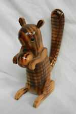 Ornaments/Figurines Wooden Squirrel Collectables