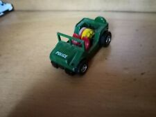 Darda  Police Geländewagen ( 20 )    (motor läuft- Bastler -da Lampen fehlen)