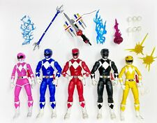 Mighty Morphin Power Rangers Lightning Collection Lot Set of 5 w Pink MMPR Rare
