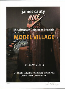 JIMMY CAUTY SIGNED AND NUMBERED MODEL VILLAGE ADP RIOT PROMO PREV PRINT 2  7/100