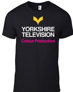 Yorkshire Television TV T-shirt 1970s Logo Retro BBC Vintage British Regional B