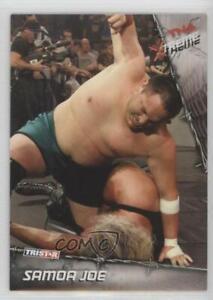 2010 TRISTAR TNA Xtreme Silver /40 Samoa Joe #4