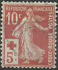 Timbre France Croix rouge semi moderne 147 o lot 21574