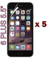 "5 x protector Protector de Pantalla Frontal Para Apple iPhone 6 + Plus 5.5"" 6S Plus"