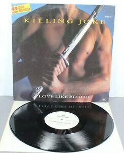 "Killing Joke - Love Like Blood - 12"" Vinyl Single (1985 German Press) -*VG+*"