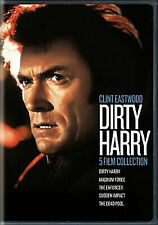 5 Film Collection Dirty Harry R4 DVD Dead Pool Enforcer Magnum Sudden Impact