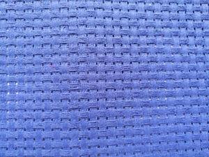 BINCA / AIDA 6 COUNT CROSS STITCH ROYAL BLUE VARIOUS SIZES COTTON **10% OFF 2+**