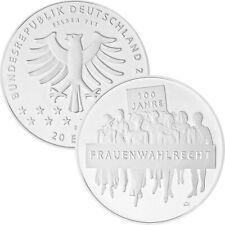 20 € Münze 100 Jahre Frauenwahlrecht 2019 NEU