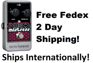 New Electro-Harmonix EHX Neo Mistress Flanger Guitar Effects Pedal