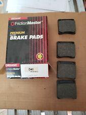 Fits Datsun B110 Friction Master D41  Organic Disc  Brake Pads NOS