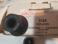 """10 Each NEW SIRCO 012A 9/16"""" FLANGE LUG NUT FORD LUG NUTS 9/16-18 THREAD .52-18"""