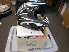 NOS Fulmer Vertigo AF-CV Full Face Graphite Helmet Motocross MX S/M AF-CV22-047