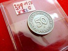 J 379    50 Pfennig   1950 G  ss     Bank deutscher Länder      K4