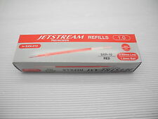 12 refill Uni-Ball Jetstream SXR-10 roller ball pen only refill RED ink
