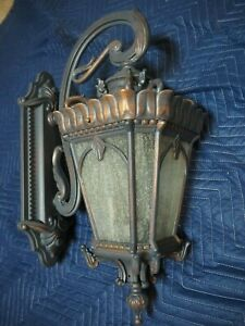 """Kichler 9357 Tournai 2 Light 10""""W Outdoor Wall Sconce - Londonderry - OPEN BOX"""