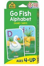 Go Fish : Game Cards by School Zone Publishing Company Staff (1999, Game,...