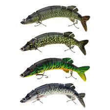 Fishing Lure Swimbait Crankbait 20cm 66g 8-segement Multi-jointed Pike Carp Pesc