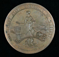 1911 CONNECTICUT STATE AGRICULTURAL SOCIETY AWARD MEDAL - HARKNESS CT-22