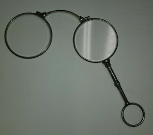 lunettes face à main anciennes pliante