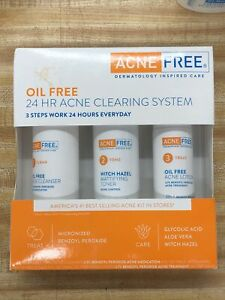 24HR ACNE CLEARING SYSTEM ACNE FREE DERMATOLOGY INSPIRED CARE