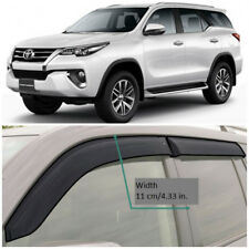 TE211817 Window Visors Vent Wide Deflectors For Toyota Fortuner AN160 2016-