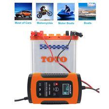 Cargador de batería plomo-ácido 12V 4A para la UE de la motocicleta del coche