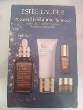 ESTEE LAUDER coffret advanced night repair serum 50ml / yeux / nettoyant val190€