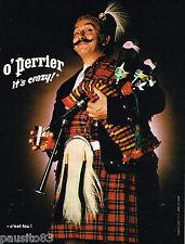 """PUBLICITE ADVERTISING 055 1976  PERRIER  eau minérale par JC DEWOLF  """"IT'S CRAZY"""