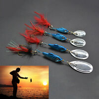 Spinner Fishing Lures peche Pesca Artificial Baits Metal Fishing Tackle spoon Dz
