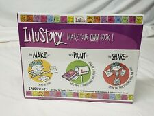 Illustory Make Your Own Book! Diy Kids craft from Lulu Jr. - Brand New