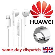 Genuine Huawei CM33 In Ear Stereo Headphones Earphone For P30,P30 Pro,P20 White