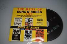 Guns N' Roses – The Best Of Guns N' Roses Live. PROMO 5 TRACK. CD-SINGLE Promo