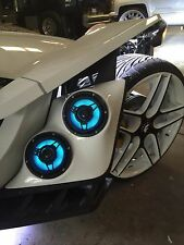2015-2016.5 Polaris Slingshot Fender Pods By UAS (Pair) (Black Texture)