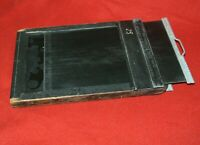 Genuine Folmer Graflex Graphic 4x5 Cut Film Holder with Darkslides