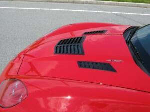 Universal Aluminum EZ-Install Hood Louvers C6 Corvette Complete 3 Louvers Set