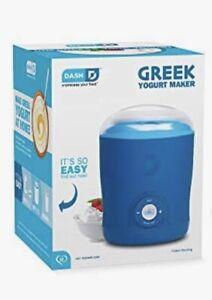 DASH GREEK YOGURT MAKER Machine New Open Box Easy BPA Free Containers Lid LCD