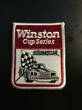 Vintage Winston Cup Series NASCAR Stitched Patch