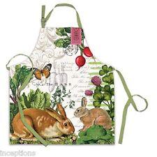 Michel Design Works Cotton Apron Garden Bunny - NEW