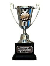 Coarse Fishing Silver Moment Cup Award Trophy (H) ENGRAVED FREE