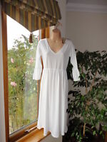 Stunning White 100% Cotton Dress from Mod-O-Doc, Size M,RRP£45, New with tags