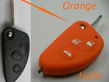 Alfa Romeo 147 156 GT 166 GTV Spider Schlüssel Fernbedienung Hülle Cover Orange