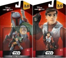 NEW Disney Infinity 3.0 Boba Fett & Poe Dameron Star Wars Figures Xbox One PS4